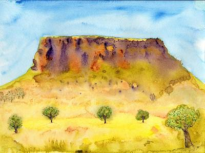 Painting -  Little Table Mountain by Jim Taylor