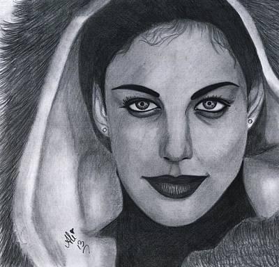 Liv Tyler Drawing - Liv Tyler by Bobby Dar