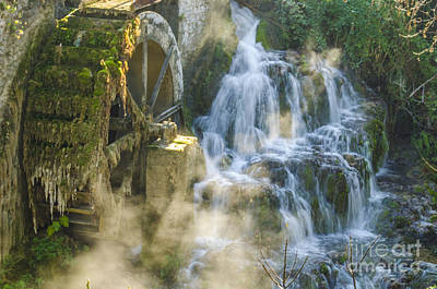 Photograph - Livadia Waterfalls 3 by Deborah Smolinske