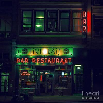 Photograph - Live Bait by Andrew Paranavitana