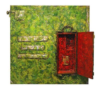 Live Green Box Art Print