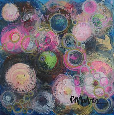 Painting - Live In Love by Laurie Maves ART