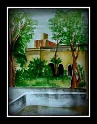 Painting - Live Landscape by Hihani Gautam