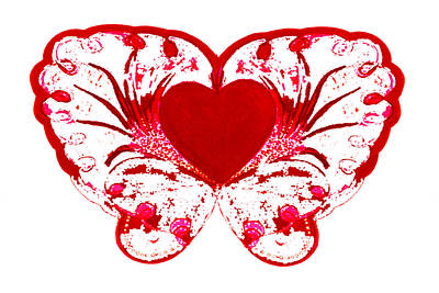 Mixed Media - Live Love by Strangefire Art       Scylla Liscombe