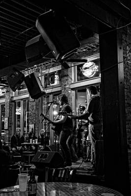 Nashville Tennessee Photograph - Live Music And Beer In Nashville Tennessee by Dan Sproul