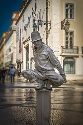 Photograph - Live Statue by Maria Coulson
