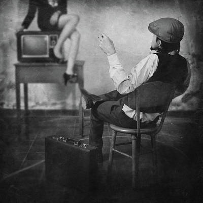 Television Photograph - Live Television by Jay Satriani