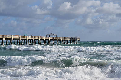 Photograph - Lively Surf At Juno by Laura Fasulo