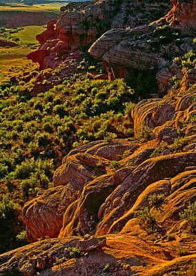 Photograph - Livermore Rock Formations At Sunset by Posters of Colorado