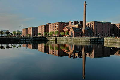 Art Print featuring the photograph Liverpool Canning Docks by Jonah  Anderson