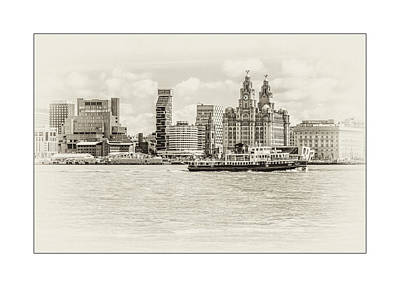 Photograph - Liverpool Ferry by Spikey Mouse Photography