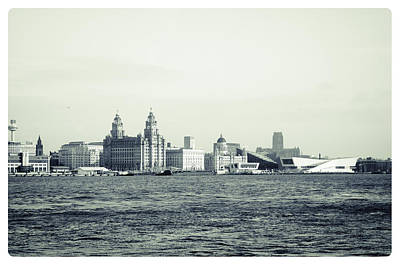 Photograph - Liverpool Water Front by Spikey Mouse Photography
