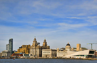 Liverpool Photograph - Liverpool Waterfront by Jeff Dalton