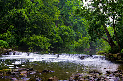 Livezey Waterfall - Wissahickon Creek Art Print