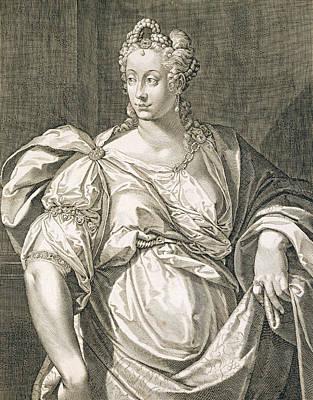 Livia Drusilla Wife Of Octavian Art Print