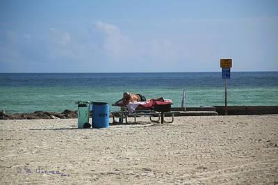 Photograph - Livin Large On Higgs Beach by R B Harper