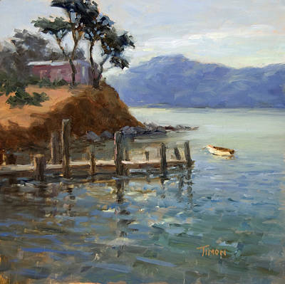 Painting - Living By The Bay by Timon Sloane