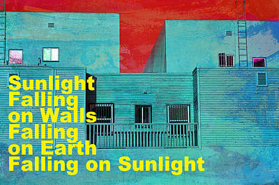 Photograph - Living Color Walls And Windows by John Fish