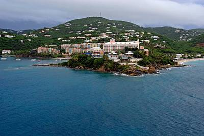 Photograph - Living High In Saint Thomas by Willie Harper
