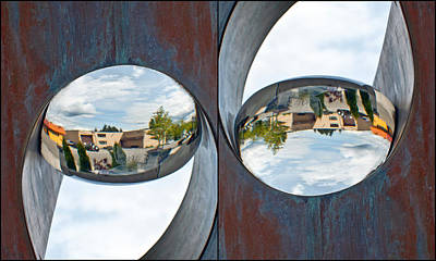 Photograph - Living In A Up-side Down-side World by Tikvah's Hope