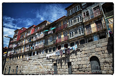 Photograph - Living In Porto by John Rizzuto