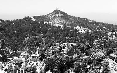 Photograph - Living In The Hollywood Hills by John Rizzuto