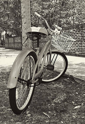 Bicycle Photograph - Living In The Past by Marcia Colelli
