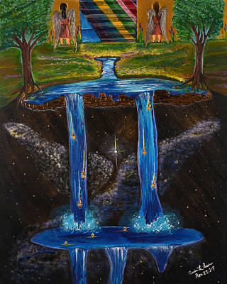 Painting - Living Water by Cassie Sears