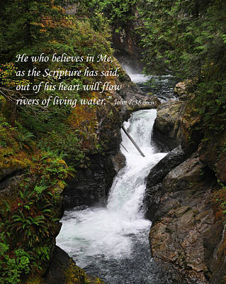 Photograph - Living Water by Kirt Tisdale