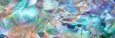 Art Print featuring the painting Living Waters - Abstract Art by Jaison Cianelli