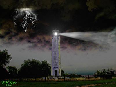 Livingston Lighthouse Original by Michael Rucker