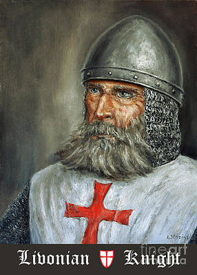 Knight Templar Art Print by Arturas Slapsys