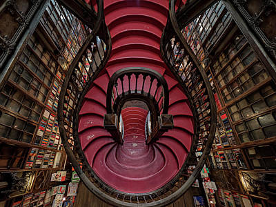 Library Wall Art - Photograph - Livraria Lello by #name?