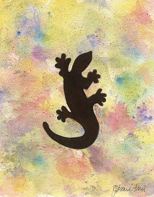 Painting - Lizard by Jamie Frier