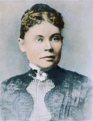 Lizzie Photograph - Lizzie Andrew Borden (1860-1927) by Granger