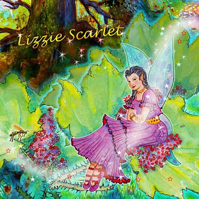 Matanuska Painting - Lizzie Scarlet Thornhollow by Teresa Ascone