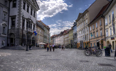 Photograph - Ljubljana Old City by Uri Baruch
