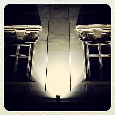 Er Photograph - #ljubljana #slovenia #night #walk by Bostjan Jazbec