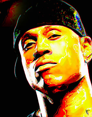 Ll Cool J Original by  Fli Art