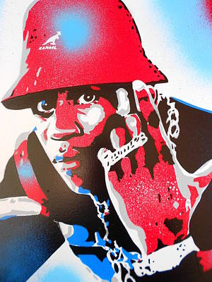 Ll Cool J Is Hard As Hell Original by Leon Keay