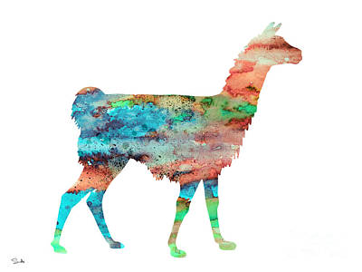 Llama Painting - Llama by Luke and Slavi