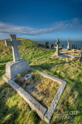 Cemetary Photograph - Llanbadrig Cemetery by Adrian Evans