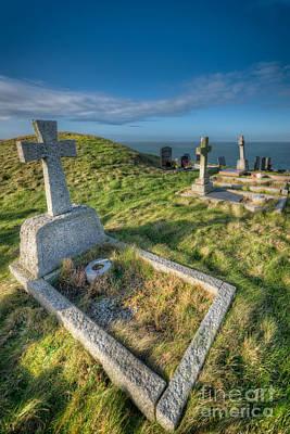 Patrick Digital Art - Llanbadrig Cemetery by Adrian Evans