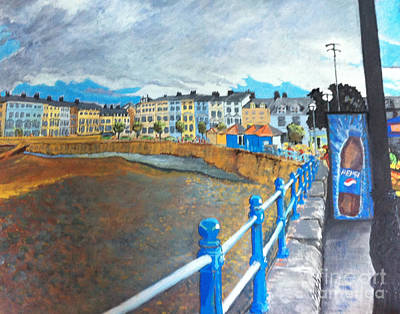 Painting - Llandudno  by Michelle Deyna-Hayward
