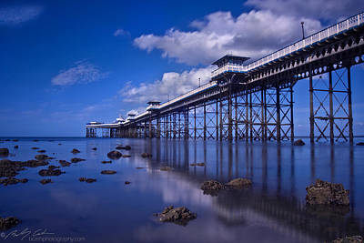 Photograph - Llandudno Pier by Beverly Cash