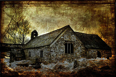 Llangelynnin Church Art Print