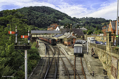 Photograph - Llangollen Railway Station by Fran Gallogly