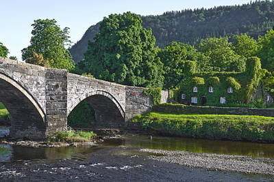 Photograph - Llanrwst Bridge Wales by Jane McIlroy