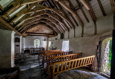 Nave Photograph - Llewelyns Church by Adrian Evans