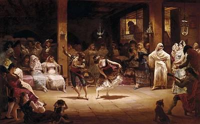 Llovera Bofill, Josep 1846-1896. A Art Print by Everett